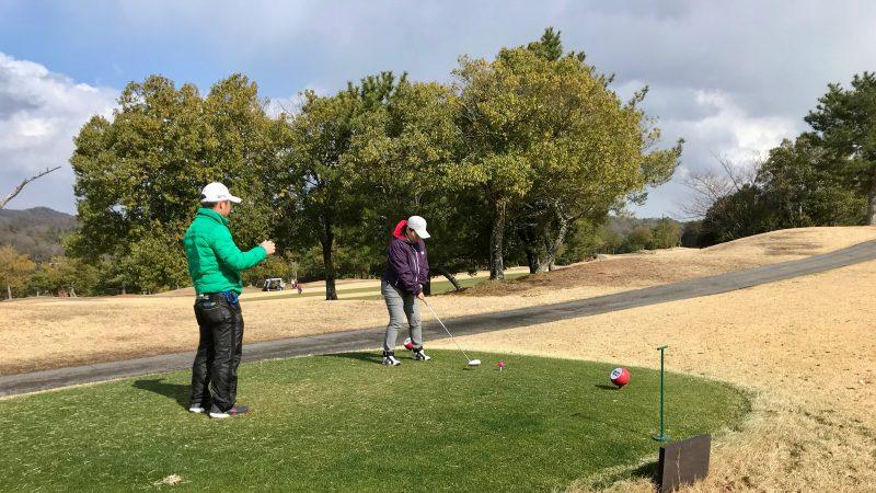 ゴルフティショットの写真
