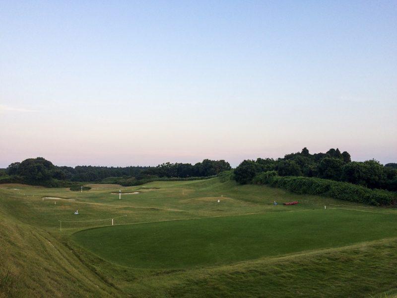 ワンウェイゴルフクラブの練習場写真①