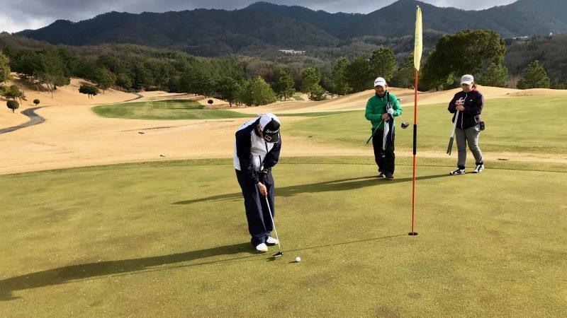 ゴルフパッティングの写真2
