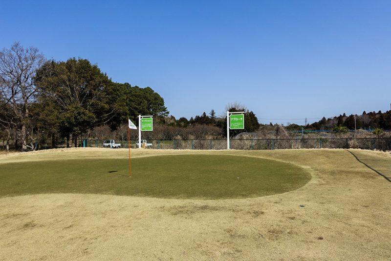 ワンウェイゴルフクラブの練習場写真④