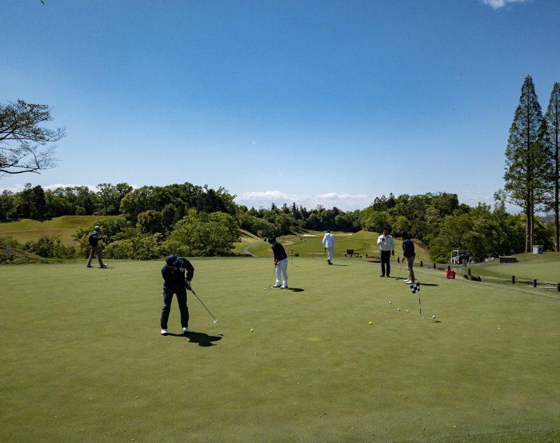 GEN-TENゴルフコースレッスンのレッスン風景画像at ウッドフレンズ森林公園ゴルフ場(愛知県)11