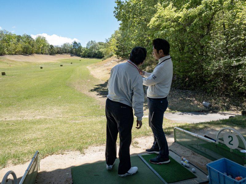 GEN-TENゴルフコースレッスンのレッスン風景画像at ウッドフレンズ森林公園ゴルフ場(愛知県)⑦