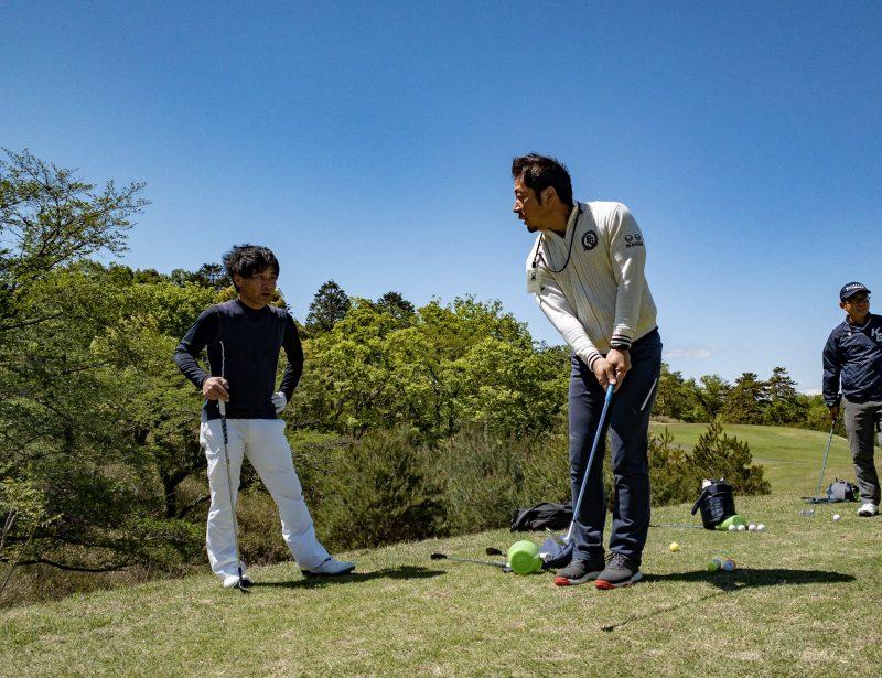 GEN-TENゴルフコースレッスンのレッスン風景画像at ウッドフレンズ森林公園ゴルフ場(愛知県)⑧