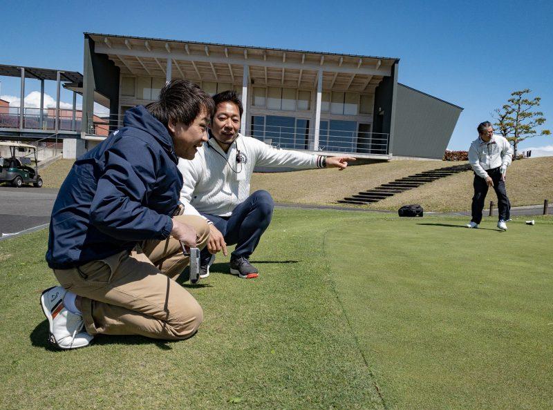 GEN-TENゴルフコースレッスンのレッスン風景画像at ウッドフレンズ森林公園ゴルフ場(愛知県)⑩
