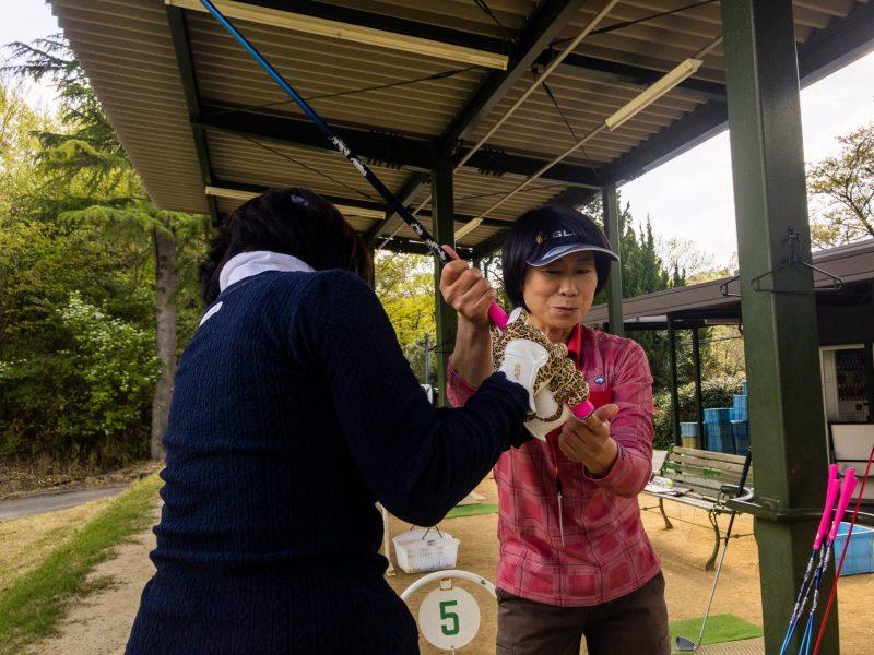 GEN-TENゴルフコースレッスン「ヒントレッスン」の様子9