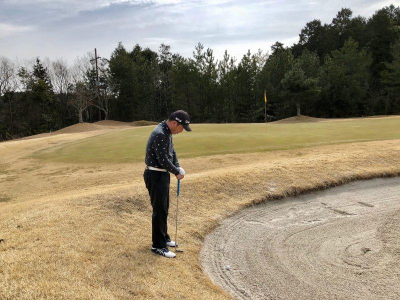 ゴルフバンカーの写真