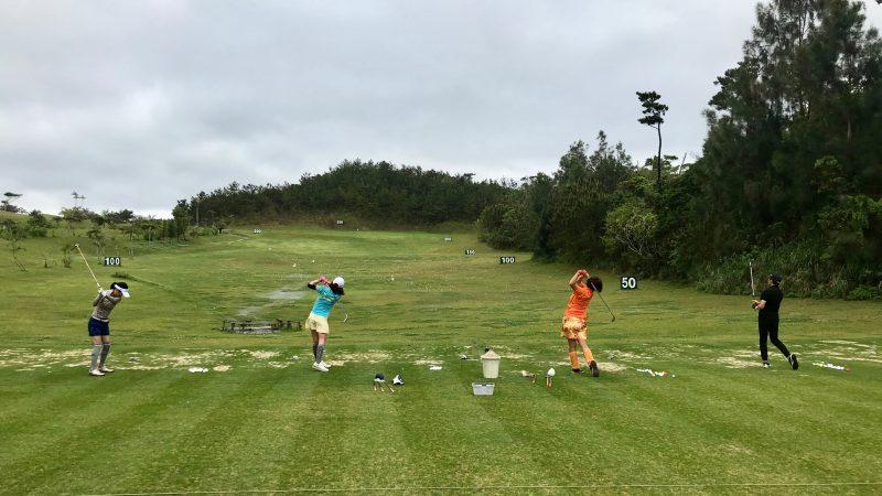 GEN-TENゴルフコースレッスン喜瀬CCドライビングレンジの写真