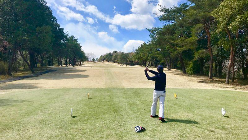 GEN-TENゴルフコースレッスンドライバーショット