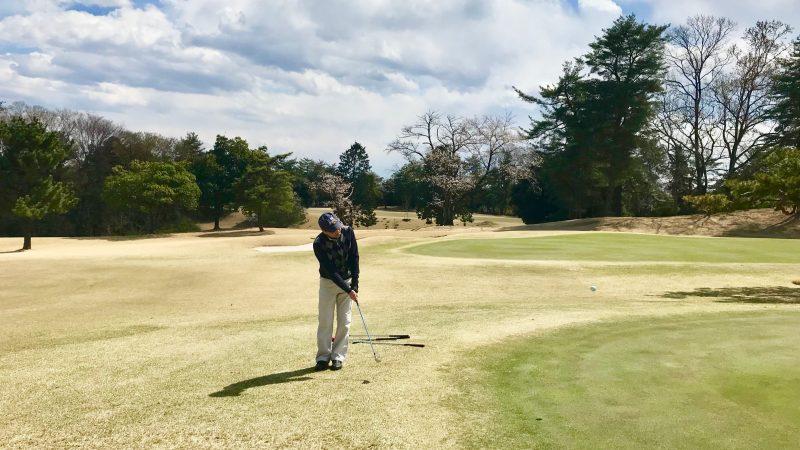 GEN-TENゴルフコースレッスンピッチ&ランアプローチ