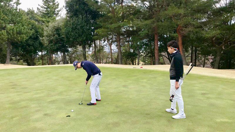 GEN-TENゴルフコースレッスンパッティング