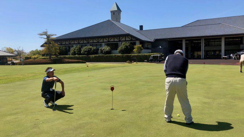 GEN-TENゴルフコースレッスンパッティングレッスンの写真