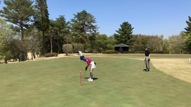 GEN-TENゴルフコースレッスンパッティングレッスンの写真①