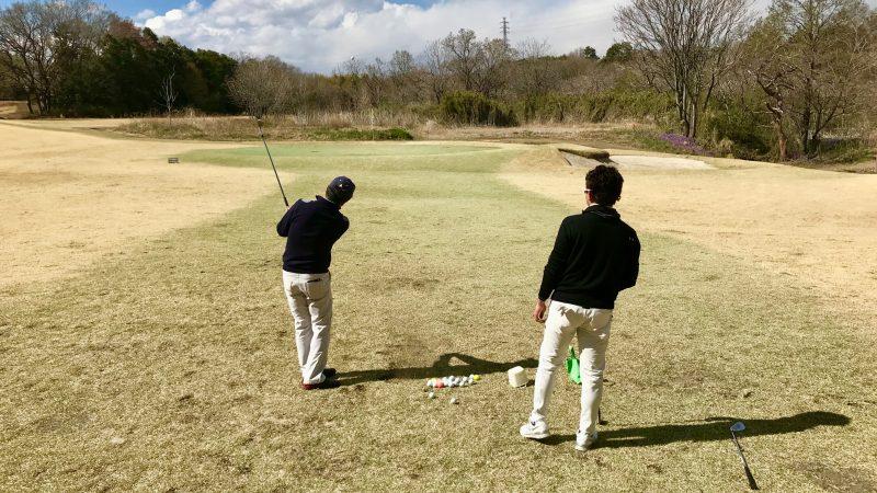 GEN-TENゴルフコースレッスン40ヤードアプローチ