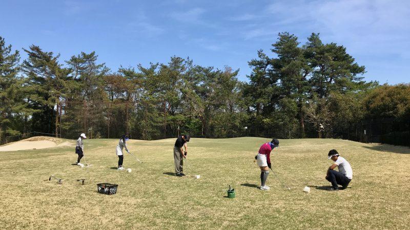 GEN-TENゴルフコースレッスンアプローチレッスンの写真①