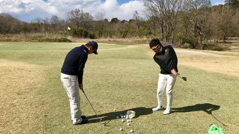 GEN-TENゴルフコースレッスン20ヤードアプローチ