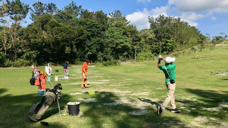 GEN-TENゴルフコースレッスン喜瀬CCドライビングレンジの写真④