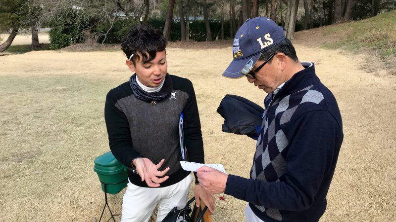 GEN-TENゴルフコースレッスン最後のカウンセリング