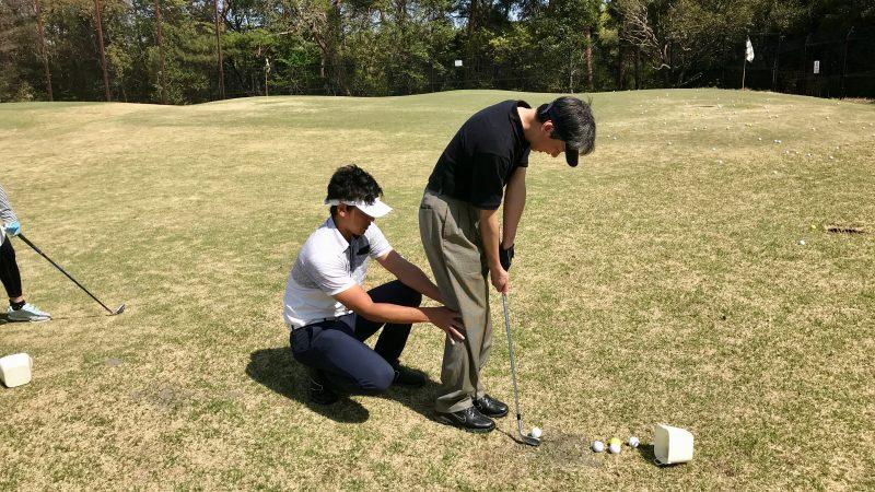 GEN-TENゴルフコースレッスンアプローチレッスンの写真⑤