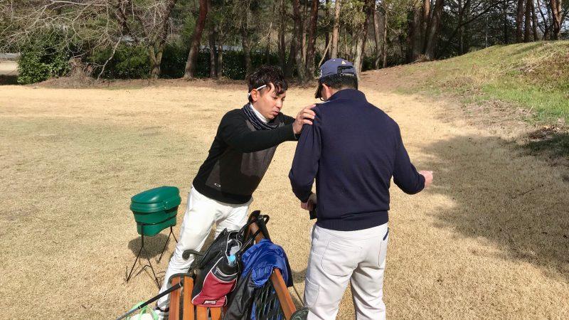 GEN-TENゴルフコースレッスン最後のカウンセリング②