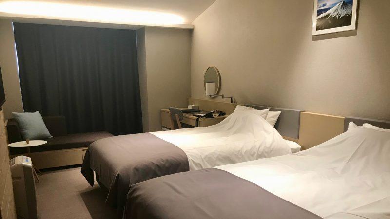 朝霧カントリークラブホテル客室の写真