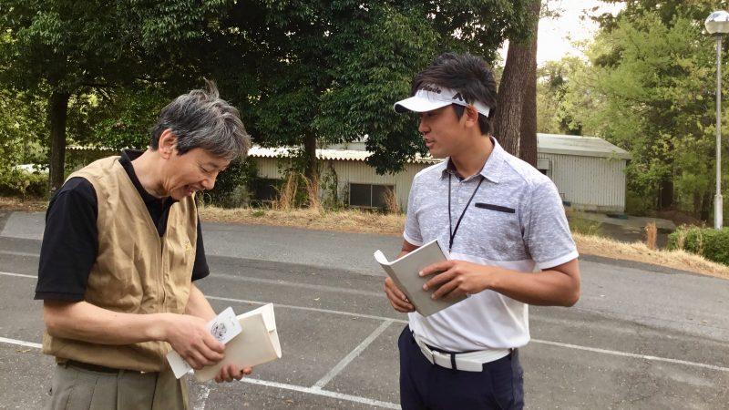 GEN-TENゴルフコースレッスン最後のカウンセリングの写真