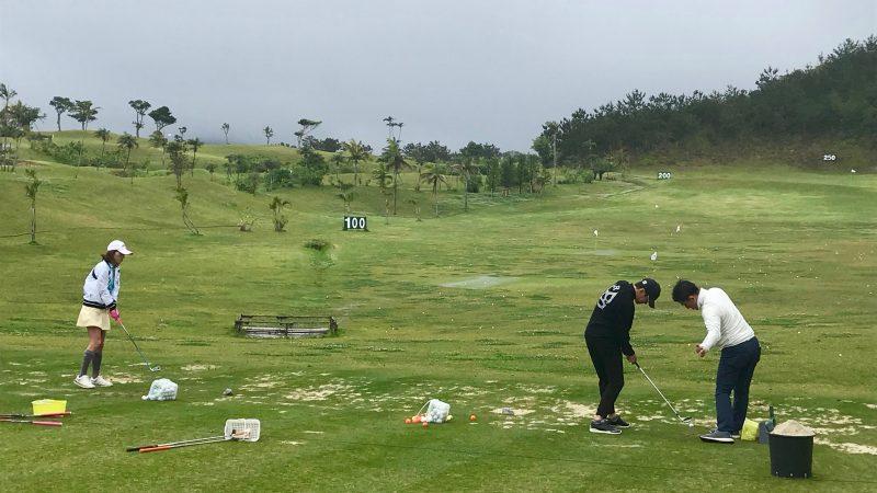 GEN-TENゴルフコースレッスン喜瀬CCドライビングレンジの写真②