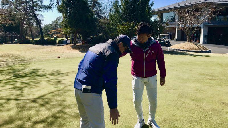 GEN-TENゴルフコースレッスンカウンセリングの様子②