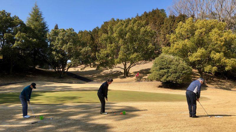 GEN-TENゴルフコースレッスン定点練習アプローチ