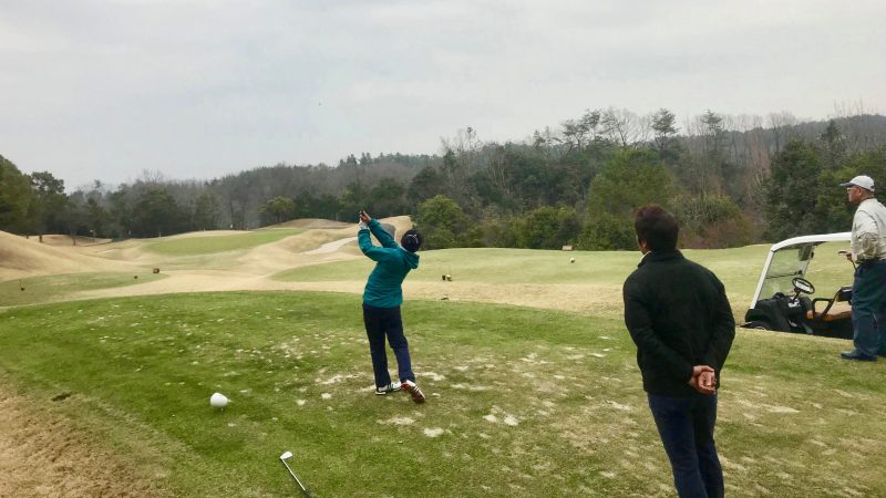 GEN-TENゴルフコースレッスンティショット