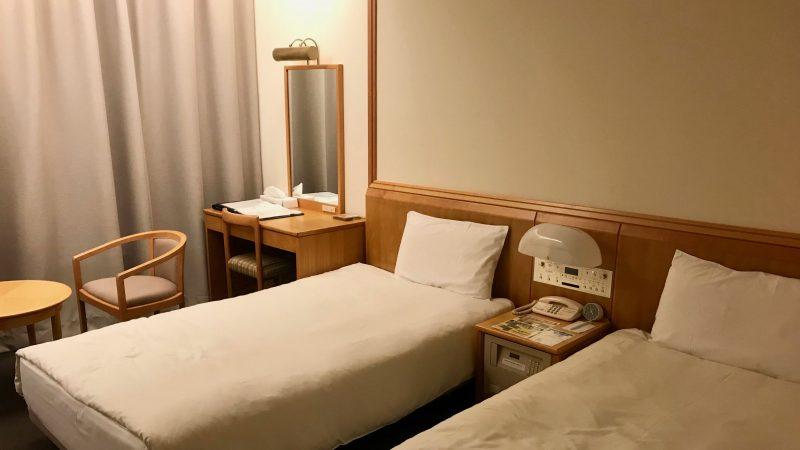 GEN-TENゴルフコースレッスン強化合宿青森スプリングGCホテル客室の写真
