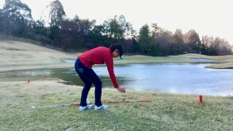 ゴルフコース救済エリアドロップ