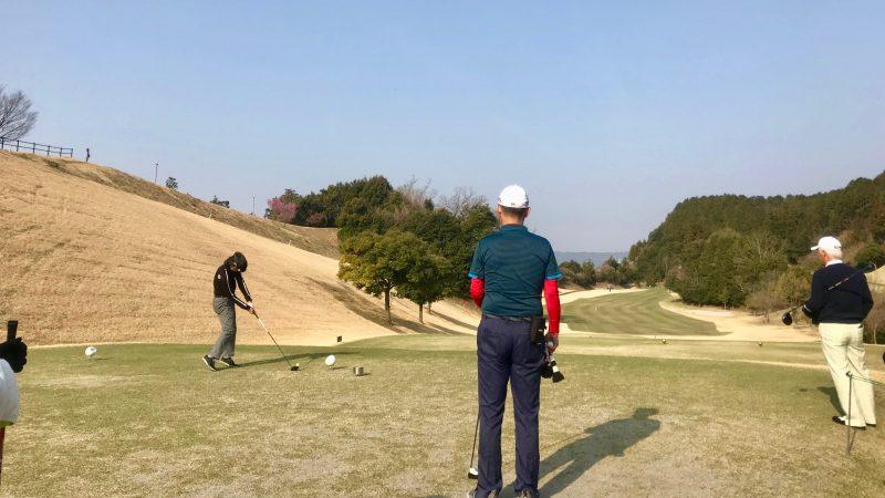 GEN-TENゴルフコースレッスンエクセレントゴルフクラブ一志温泉コースティショットの写真