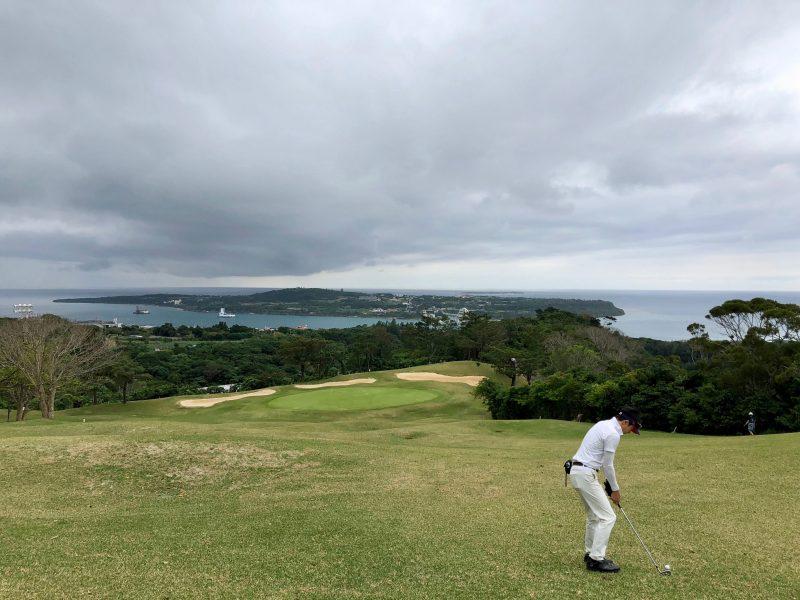 GEN-TENゴルフコースレッスンセカンドショットの写真②