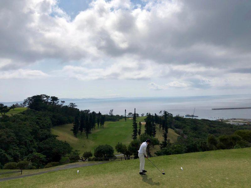 GEN-TENゴルフコースレッスンティショットの写真②