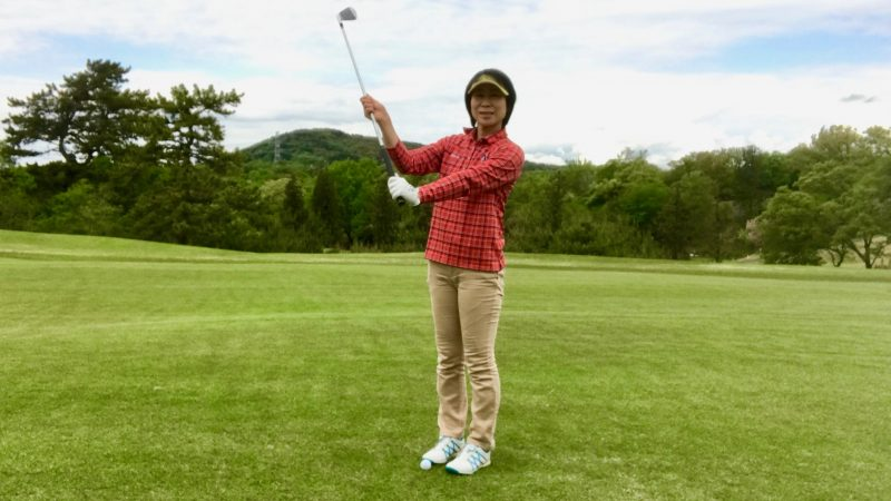 GEN-TENゴルフコースレッスンドリルの説明の写真