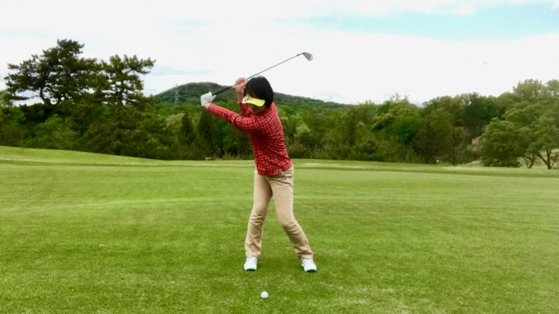 GEN-TENゴルフコースレッスンドリルトップオブスイングの写真