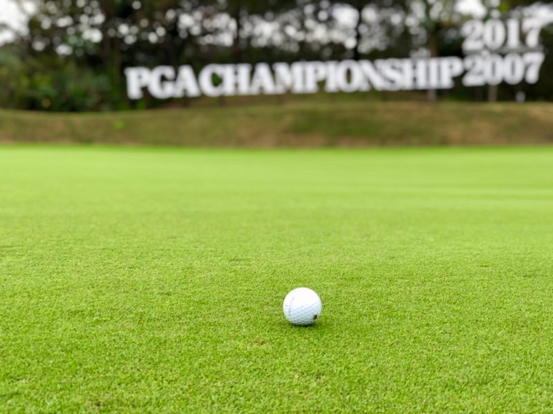 GEN-TENゴルフコースレッスンゴルフボールの写真