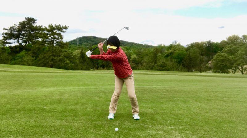 GEN-TENゴルフコースレッスンドリル切り返しの写真