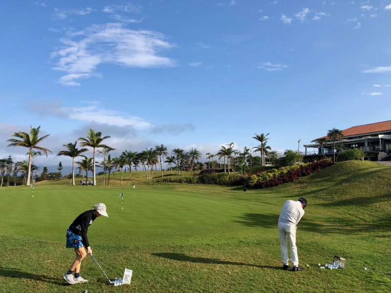 GEN-TENゴルフコースレッスンアプローチ練習場の写真