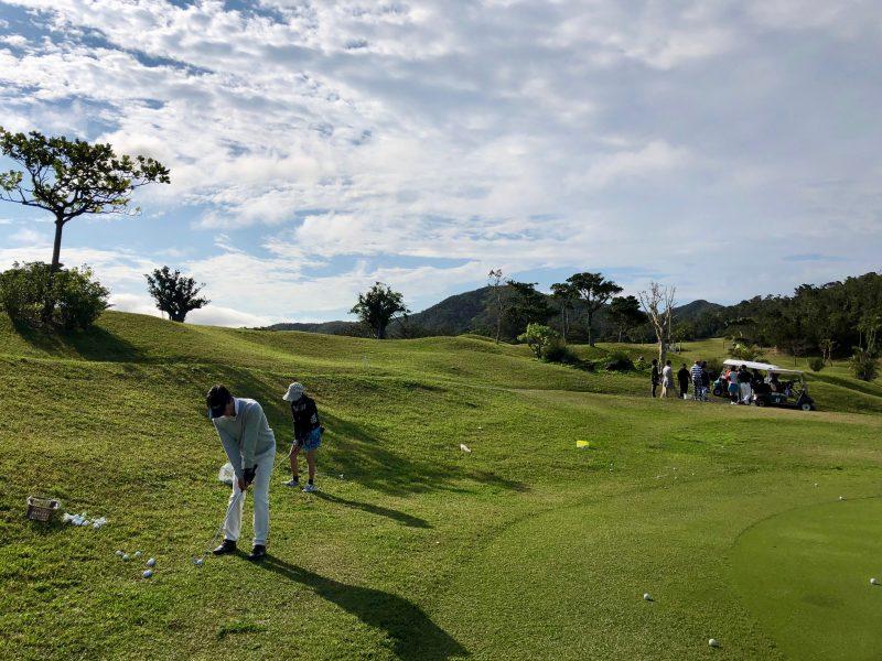 GEN-TENゴルフコースレッスンアプローチ練習場の写真②
