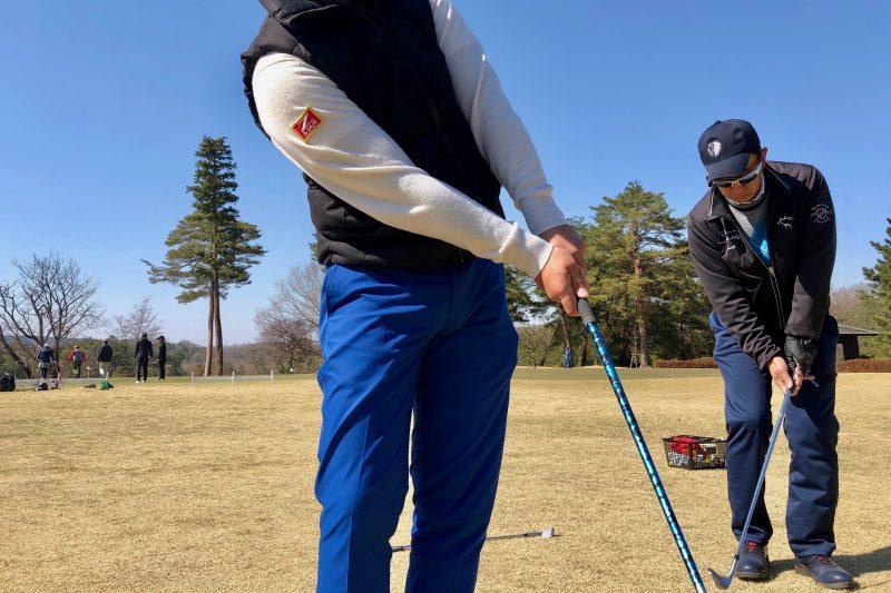 ゴルフスイングアプローチ