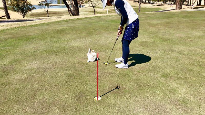 GEN-TENゴルフコースレッスンパット練習グリーン前方