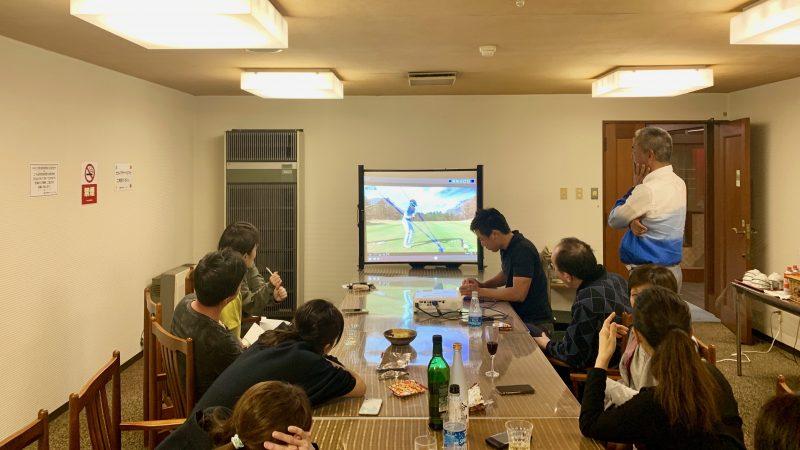 GEN-TENゴルフコースレッスン那須国際CCナイトミーティングの写真