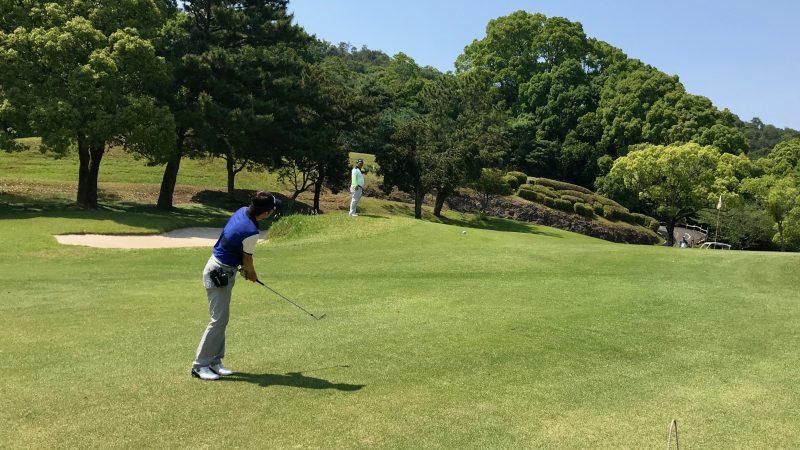 GEN-TENゴルフコースレッスン高知キャンプ土佐CCアプローチの写真
