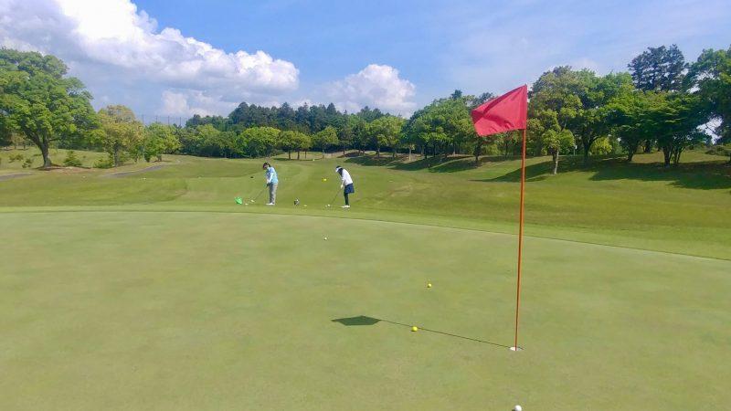 GEN-TENゴルフコースレッスン出島GC定点練習アプローチの写真