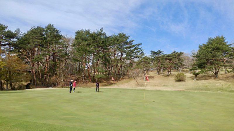 GEN-TENゴルフコースレッスン那須強化合宿早朝ラウンドの写真