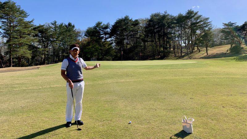 GEN-TENゴルフコースレッスンアプローチグリーンの写真