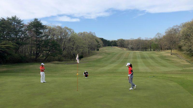 GEN-TENゴルフコースレッスン那須国際CCラウンドアプローチの写真