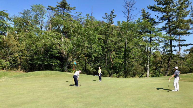 GEN-TENゴルフコースレッスンハーフラウンドパッティングの写真②
