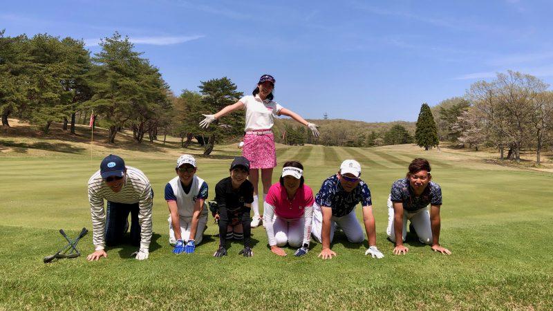 GEN-TENゴルフコースレッスン那須国際CC集合写真②